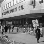 Madison, Feb. 27, 1960 - Picketing for Civil Rights