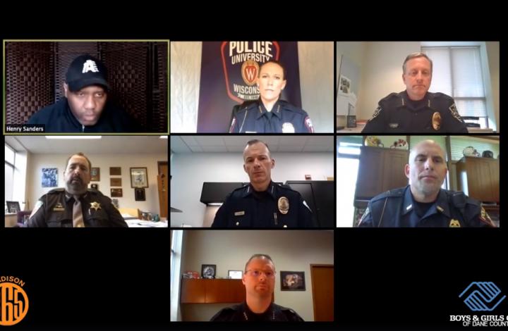 Local law enforcement leaders condemn murder of George Floyd