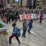 Protests continue Monday in downtown Madison