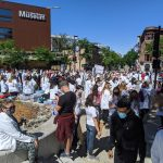 Wisconsin's medical caregivers protest in support of black lives