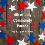 Reverse Fourth of July Parade in Milton