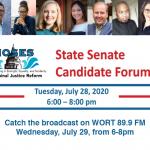Listen to State Senate candidates debate criminal justice reform