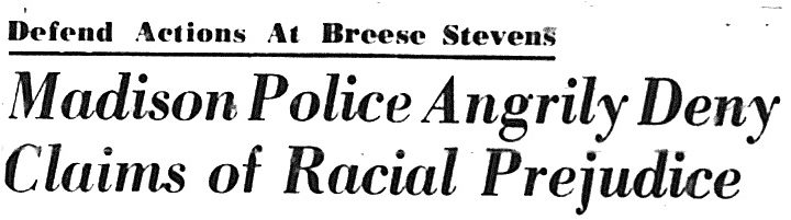 Madison in the Sixties - The Incident at Breese Stevens Field
