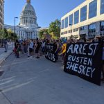 Student-led protest pushes for arrest of Rusten Sheskey