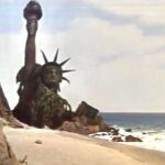 There Goes the Statue of Liberty!