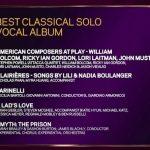 Grammy nomination for Sarah Brailey