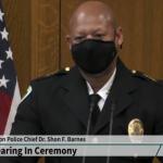 Shon Barnes sworn in as Madison's new top cop