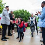 Celebrating Black History Month with 100 Black Men of Madison