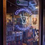 As downtown redevelopment pushes forward, Community Pharmacy plans for the future