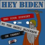 Saleh: Biden must end support of the Saudi blockade of Yemen
