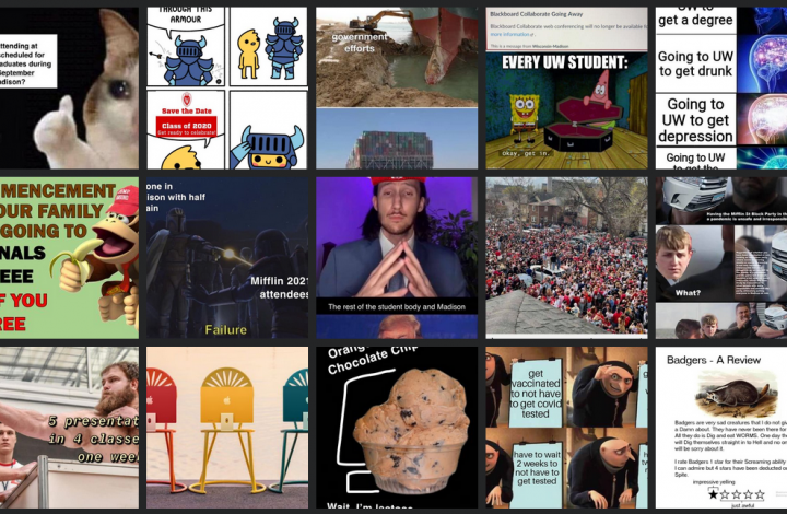 New Domains: Memes and Milk-Chugging Teens Shape Culture at UW Madison