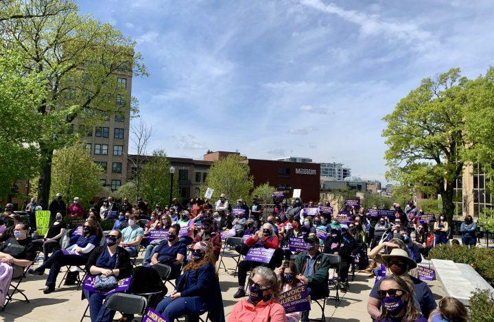 Governor Tony Evers And Democratic Lawmakers Endorse UW-Health Nurse Union