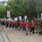 """""""It felt like a huge slap in the face:"""" Madison teachers protest contracts"""