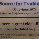 Madison Jazz Society is Set to Dissolve