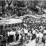 Madison, May 1967 - The Bus Lane Protest