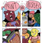 Print & Resist Zinefest Disperses Through Madison this Saturday