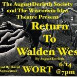 Return to Walden West by August Derleth