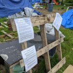 Reindahl encampment's future in the hands of city committee