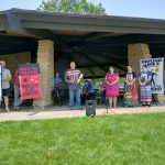 Demonstrators and Common Council Members Speak Up Against Line 3 Oil Pipeline
