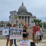 Madisonians protest Enbridge's Line 3 project