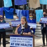 Madison Leaders Show Support for UW Health Nurses' Union Effort